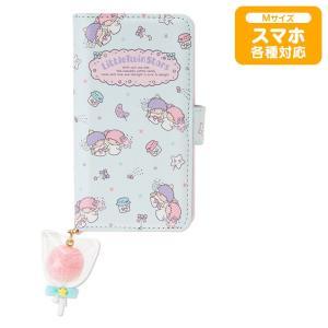 リトルツインスターズ マルチスマートフォンケースM(コットンキャンディ) sanrio