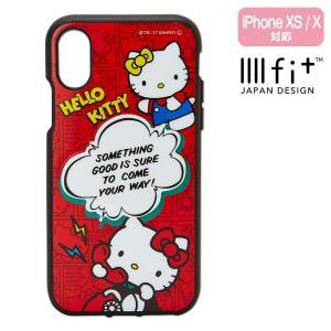 ハローキティ×イーフィット 3D iPhone Xケース sanrio