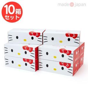 ハローキティ ティシュペーパー 10箱セット(キュートピンク)|sanrio