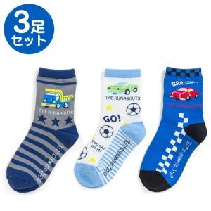 ザ ラナバウツ キッズソックス3足セット(スター)|sanrio