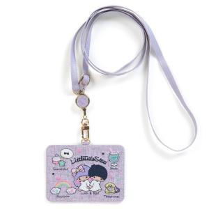 リトルツインスターズ IDケース(刺繍)|sanrio