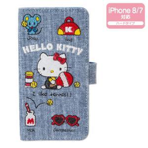 ハローキティ iPhone 8/iPhone 7ケース(刺繍) sanrio