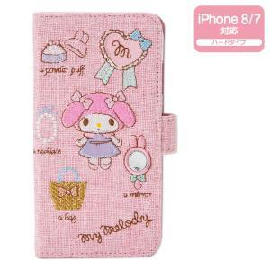 マイメロディ iPhone 8/iPhone 7ケース(刺繍)|sanrio