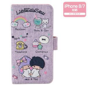 リトルツインスターズ iPhone 8/iPhone 7ケース(刺繍)|sanrio