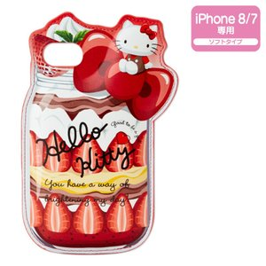ハローキティ iPhone 8/iPhone 7ケース(ボトルスイーツ)|sanrio