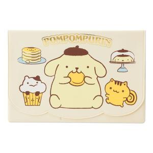 ポムポムプリン 通帳&カードケース(スイーツ) sanrio