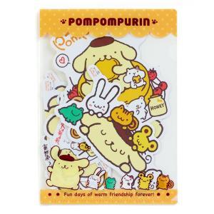 ポムポムプリン デコレーションステッカー sanrio