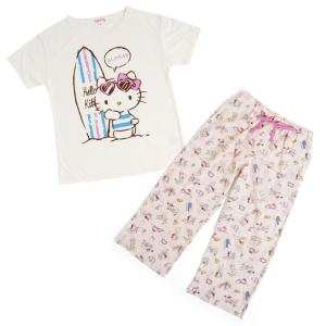 ハローキティ Tシャツ&パンツ(ハワイアン)|sanrio