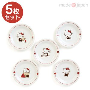 ハローキティ プレート5枚セット|sanrio