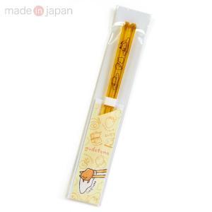 ぐでたま クリア箸(イエロー)|sanrio