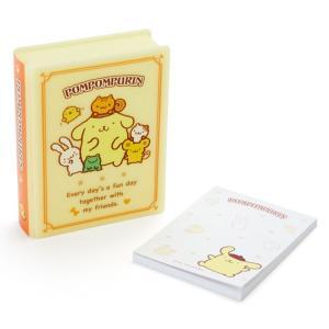 ポムポムプリン ブック形ケース入りメモ|sanrio
