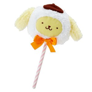 ポムポムプリン 綿菓子風ミニぬいぐるみ|sanrio