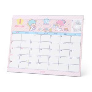 リトルツインスターズ シートカレンダー 2019|sanrio