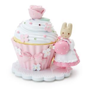 マロンクリーム 小物入れ(カップケーキ)の写真