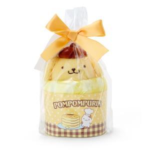 ポムポムプリン プチタオル&マスコットセット(カップケーキ)|sanrio