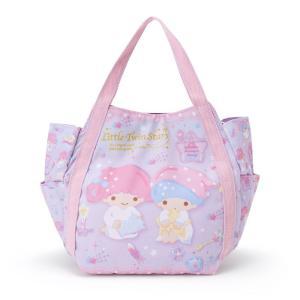 リトルツインスターズ プリントランチバッグ(おやすみ)|sanrio
