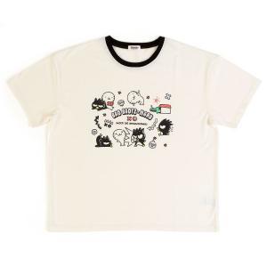 バッドばつ丸 Tシャツ(はな丸) sanrio