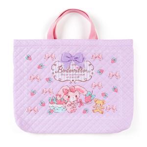 ぼんぼんりぼん キルティング手提げバッグ(いちご)|sanrio