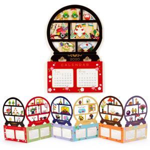 ハローキティ 和風カレンダーカード(丸棚)|sanrio