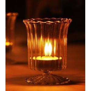 キャンドルスタンド 癒し の 光 キャンドル グラス スタンド キャンドルカップ/インテリア