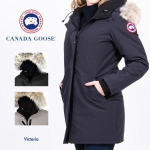 カナダグース コート レディース CANADA GOOSE VICTORIA ヴィクトリア 3037L 婦人 ダウンジャケット ジャンパー ビクトリア アウター 防寒 ファー取り外し可 sansei-s-style