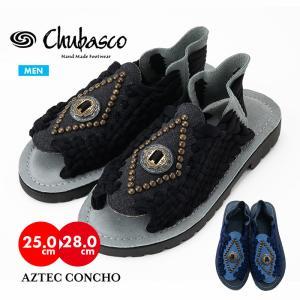 チュバスコ CHUBASCO メンズ 紳士 男性 アウトドア サンダル シューズ メキシコ アズテックコンチョ MADE IN MEXICO MENS AZTEC CONCHO|sansei-s-style