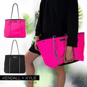 ケンダルアンドカイリー バッグ レディース Kendall+Kylie ELLIE エリー トートバッグ ハンドバッグ ネオプレントート|sansei-s-style