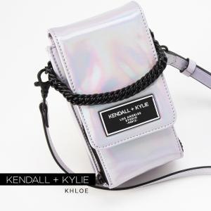 ケンダルアンドカイリー バッグ レディース Kendall+Kylie KHOLE コール ショルダーバッグ サコッシュ ポーチ シガレットケース|sansei-s-style
