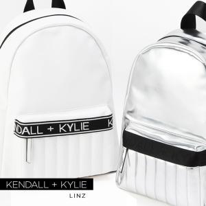 ケンダルアンドカイリー バッグ レディース Kendall+Kylie LINZ BACKPACK リンツ バックパック リュック メタリック|sansei-s-style