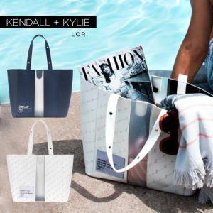 ケンダルアンドカイリー バッグ レディース Kendall+Kylie LORI ロリ トートバッグ ハンドバッグ クリア シースルー スケルトン|sansei-s-style