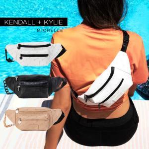 ケンダルアンドカイリー バッグ レディース Kendall+Kylie MICHELLE ミシェル メッセンジャーバッグ サコッシュ ウエストポーチ ウェストバッグ|sansei-s-style