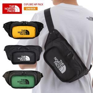 ノースフェイス バッグ メンズ レディース THE NORTH FACE EXPLORE HIP PACK サコッシュ メッセンジャーバッグ ウエストバッグ NF0A3KZX 3L フェス 通学|sansei-s-style