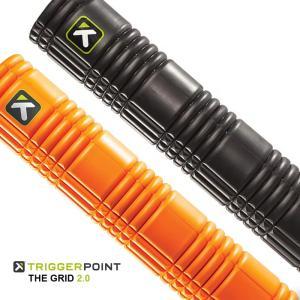 トリガーポイント フォームローラー ロング TRIGGER POINT GRID FOAM ROLLER 2.0 ストレッチローラー 66cm 筋膜リリース コンパクト ヨガ フィットネス|sansei-s-style