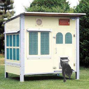 キャットハウス 《屋外用キャットシャトー 1500HDX》  |sansei