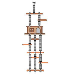 超高層3mキャットタワー  [スカイツリーRA-DX]|sansei