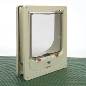 センサー付 大型キャットドア L [176×185] sansei