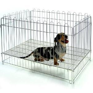 小型犬用 ステンレスサークル 910|sansei