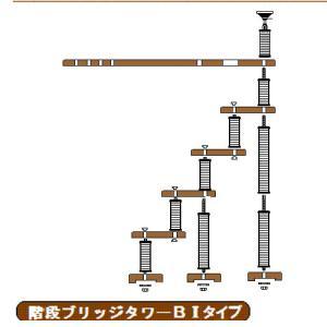 階段ブリッジBIタイプへ sansei