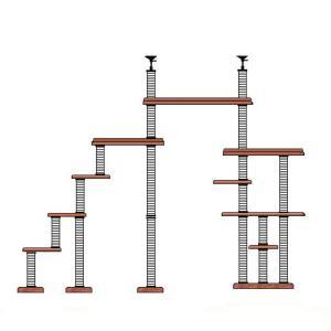特注 階段 XLB 1000W ブリッジタワー [2350]|sansei