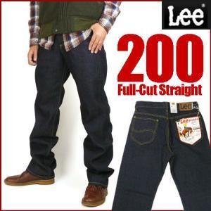 Lee リー200 ワンウォッシュ FULL CUT フルカット ややゆったりめのストレート 02000 送料無料|sanshin