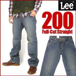 Lee リー 200 ユーズドブルー FULL CUT フルカット ややゆったりめのストレート 02000 送料無料|sanshin