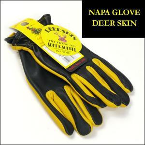 NAPA GLOVE ナパグローブ レザー手袋 DEERSKIN LEATHER GLOVE ディアスキンレーサーグローブ 鹿革 コンビネーション ツートンカラー NAP003 送料無料 sanshin