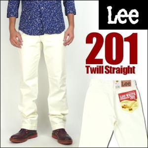 Lee リー 201 ウエスターナー ツイル ホワイト AMERICAN STANDARD 送料無料|sanshin