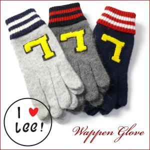 Lee Lady's リー ワッペン グローブ 手袋 LA0141 sanshin
