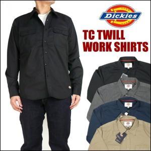 Dickies ディッキーズ TCツイル ワークシャツ 151M20WD13 セール|sanshin
