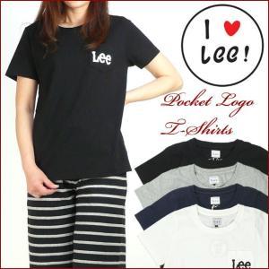 Lee リー Lady's ポケットロゴTシャツ LS7150 LTH-TS|sanshin