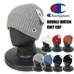 Champion チャンピオン ダブルワッチ ニットキャップ 帽子 メンズ レディース 590-002A|sanshin