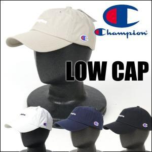 Champion チャンピオン ミニ刺繍 ローキャップ 帽子 181-0136 181-015A メンズ レディース プレゼント ギフト|sanshin