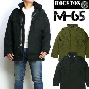 HOUSTON ヒューストン メンズ M-65 フィールドジャケット M65 ミリタリージャケット 50815|sanshin