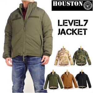 HOUSTON ヒューストン メンズ ミリタリージャケット LEVEL7 JACKET レベル7 ジャケット 50323 送料無料|sanshin